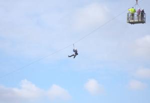 Zip slide