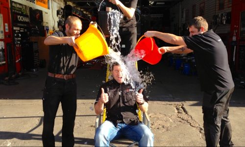 Ice Bucket Challenge For Macmillan Cance