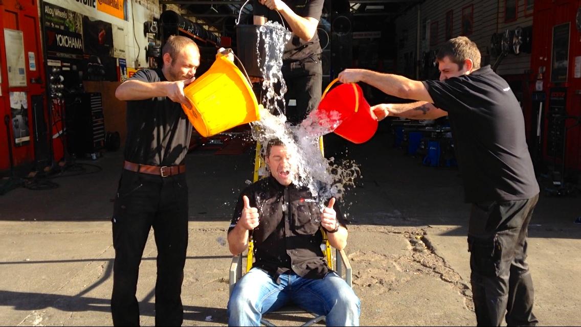 Ice Bucket Challenge For Macmillan Cance