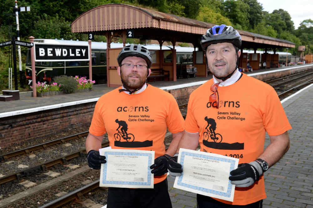 Charity Cycle Ride in aid of Acorns Chil