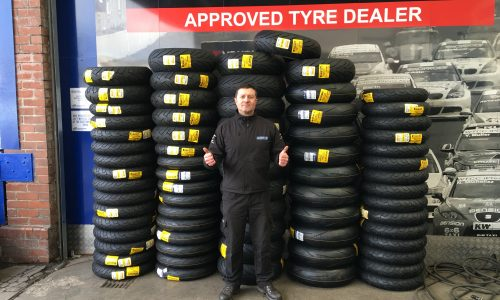 Motorcycle Tyres Sale Now On!
