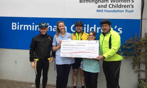 Coast to Coast cycle ride raised over £
