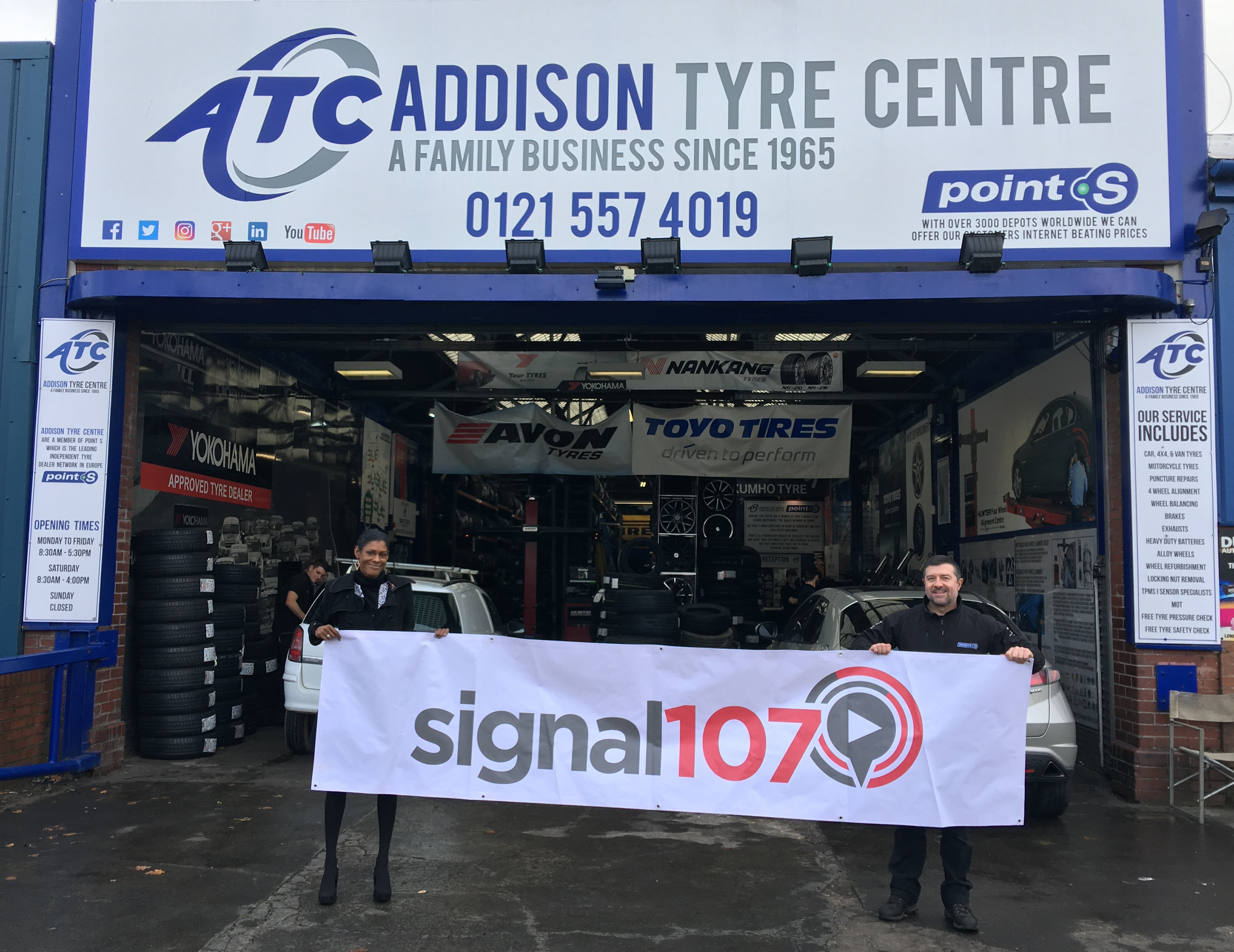 Supporting Tyre Safety Month October 201