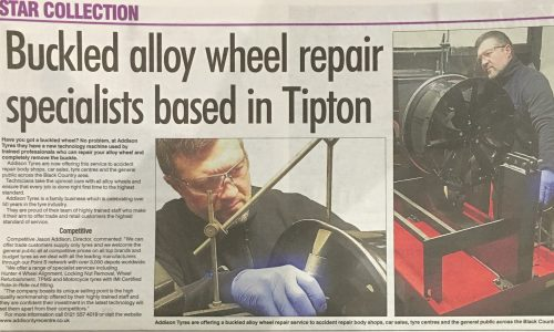 Buckled Alloy Wheel Repairs at Addison T