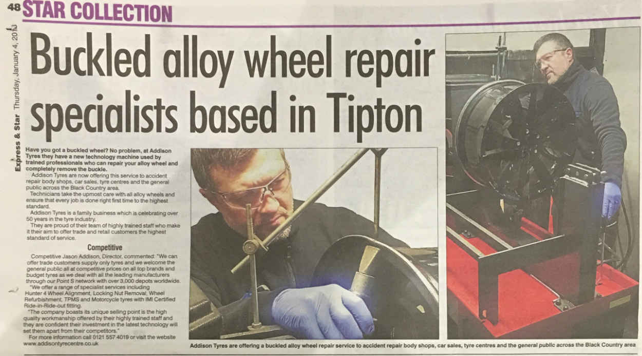 Buckled Alloy Wheel Repairs… Wow!