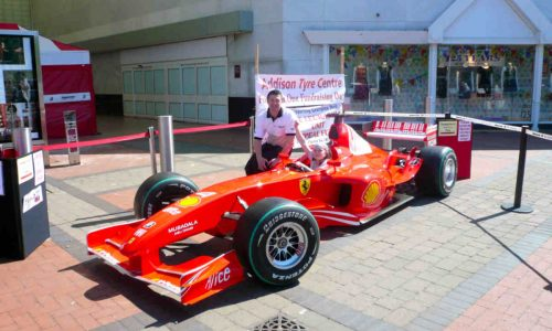 Ferrari F1 fund raising weekend at Merry