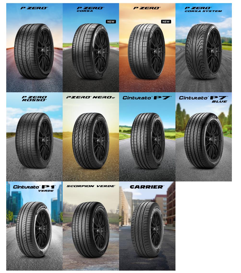 Pirelli collection 1