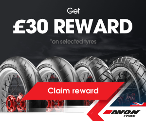 Avon motorcycle tyres promotion claim £