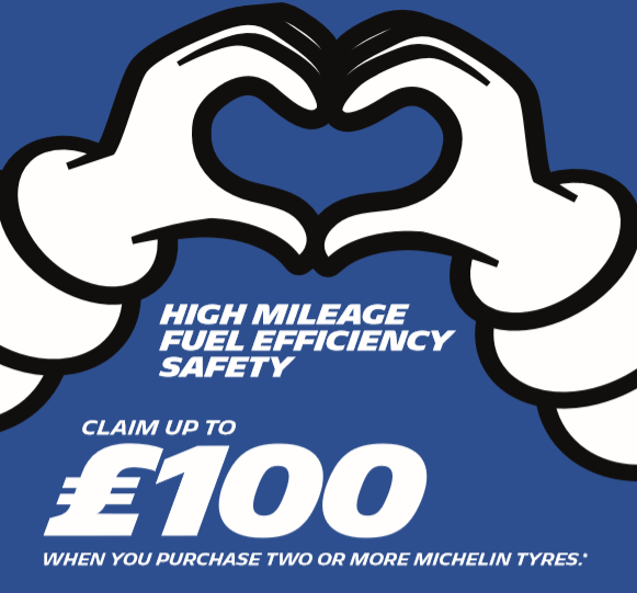 Claim back up to £100 when buying Miche