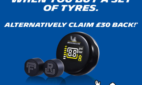 Claim Free TPMS system or £30 cash back