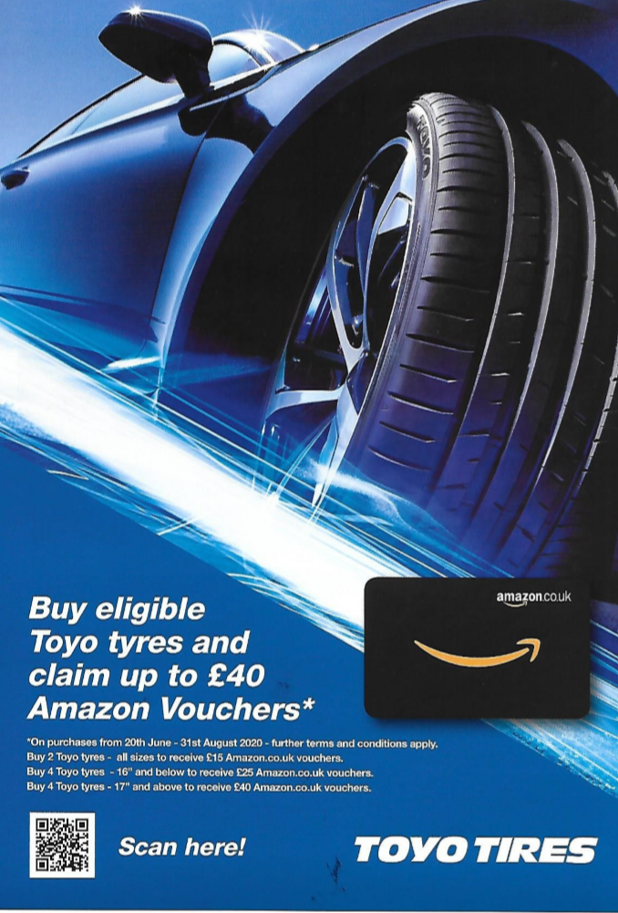 Claim up to £40 worth of Amazon voucher