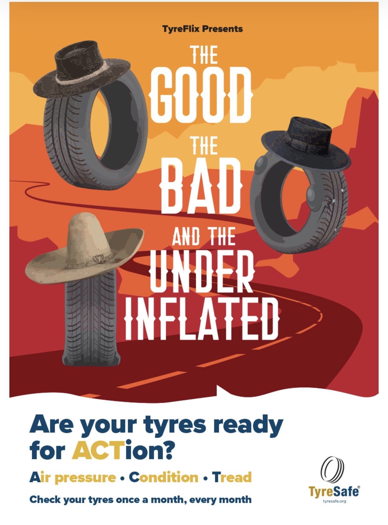 October is tyre safety month, please boo