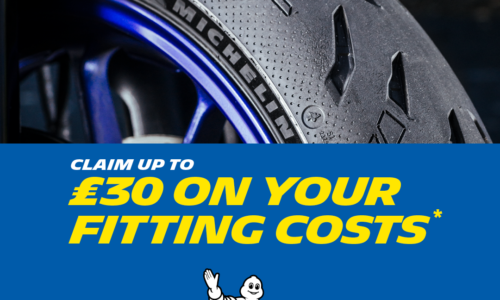 Save £30 with Michelin motorcycle tyres