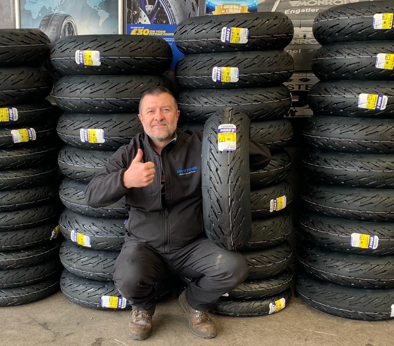 All of our Motorcycle tyre promotions, d
