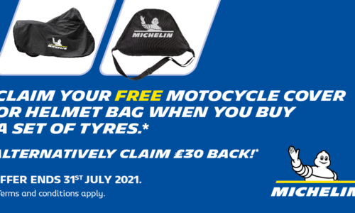 Michelin Motorcycle tyres promotion, cla