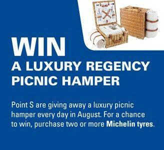 Win a luxury regency picnic hamper every